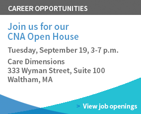 CNA Open House Tuesday, September 19, 3-7 p.m.