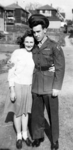 Helen and Gene Galipeau May 1945